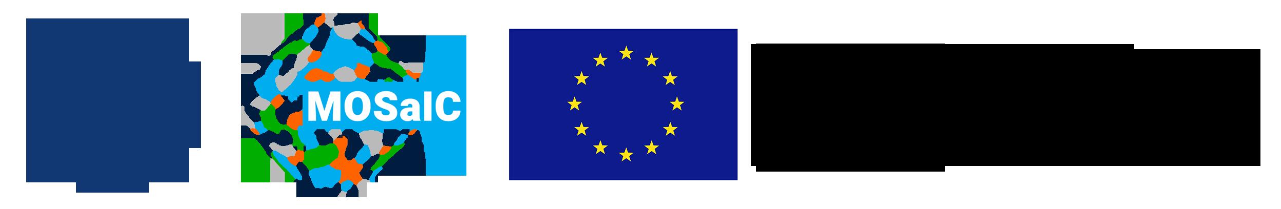 loga: Instytutu, projektu MOSaIC i UE + informacja o finansowaniu projektu