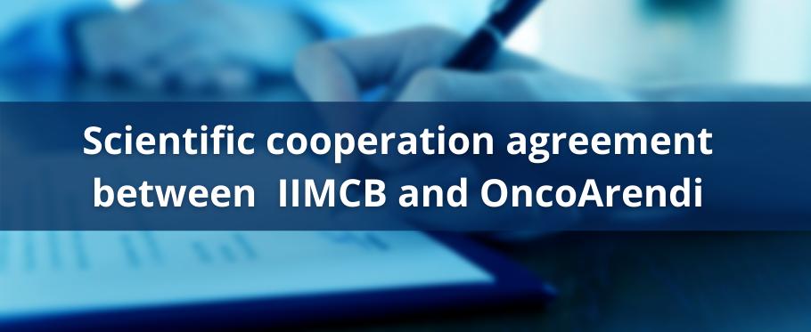 Scientific cooperation agreement between IIMCB and OncoArendi