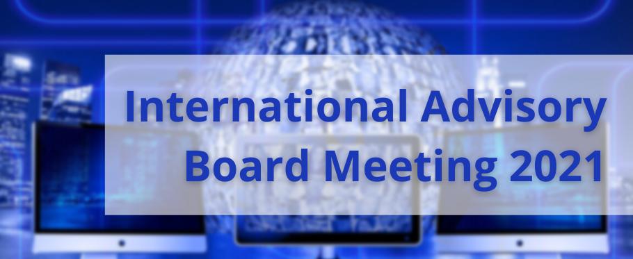 International Advisory Board meeting 2021