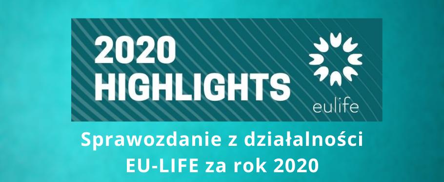 Sprawozdanie z działalności EU-LIFE za rok 2020