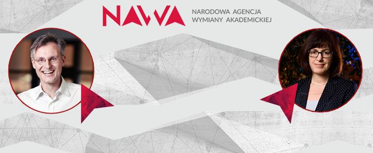Dr Izabela Sabała i prof. Matthias Bochtler wśród laureatów programu Akademickie Partnerstwa Międzynarodowego  NAWA
