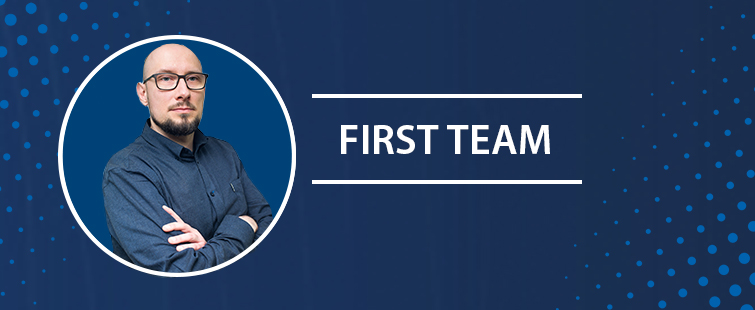 Dr. Wojciech Pokrzywa among the laureates of the 5th edition of the FIRST TEAM programme