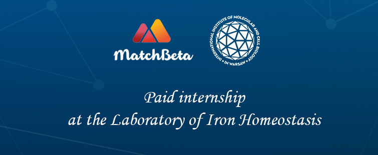 IIMCB invites interested candidates to apply for paid the internships at the Laboratory of Iron Homeostasis