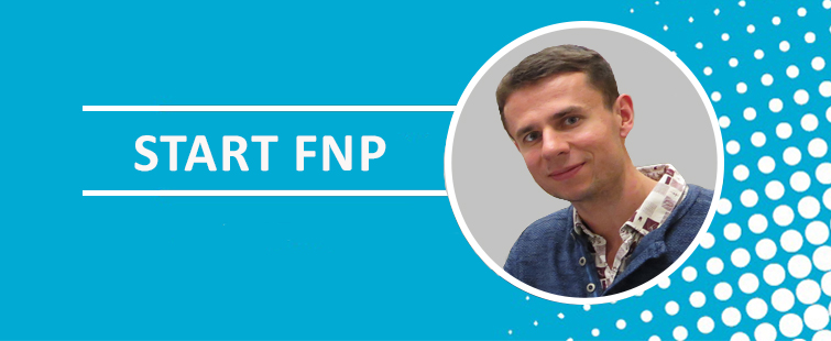 Michał Rażew from the Laboratory of Protein Structure was awarded the scholarship for young, talented researchers given by Foundation for Polish Science (FNP) under the START Programme