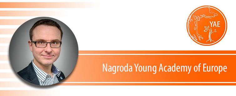 Prof. Janusz M. Bujnicki laureatem tegorocznej Nagrody Young Academy of Europe (YAE)